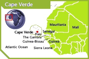 Cape Verde location