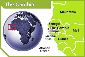 Gambia location