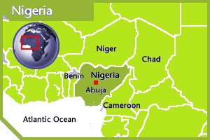 Nigeria location