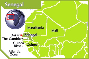 Senegal location