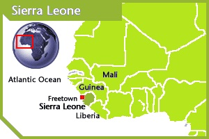 Sierra Leone location