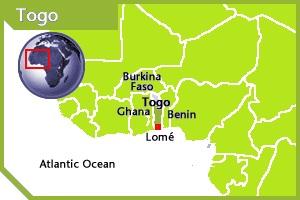 Togo location